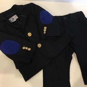 Baby boy suit  patch elbows 3-6month